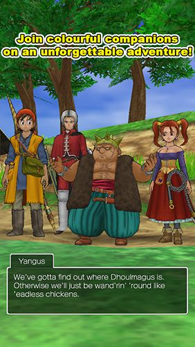 Dragon quest 8: Journey of the Cursed King screenshot 1