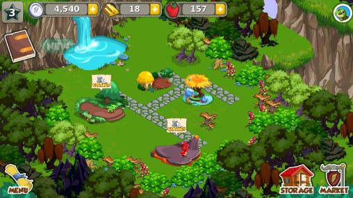 Dragon story: Country picnic screenshot 1