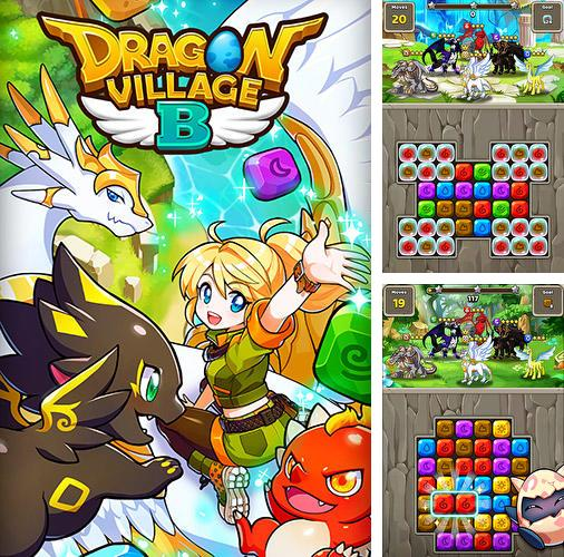 Dragon village B: Dragon breeding puzzle blast