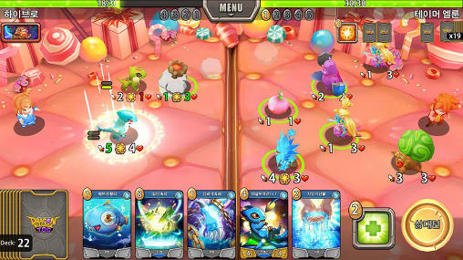 Screenshots von Dragon village TCG für Android-Tablet, Smartphone.