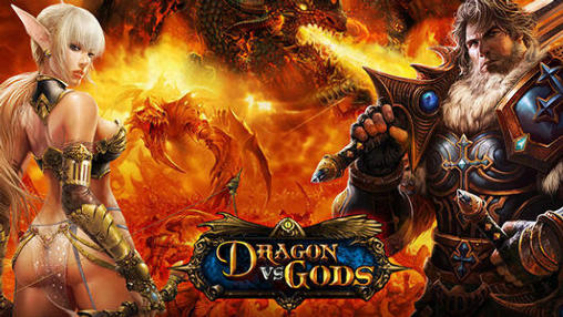 Dragon vs gods poster