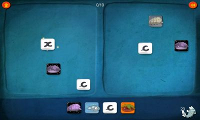 Screenshots of the DragonBox for Android tablet, phone.