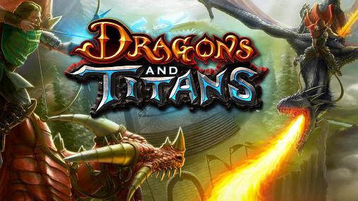 Dragons and titans обложка