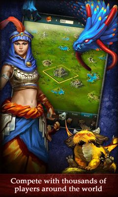 Juega a Dragons of Atlantis para Android. Descarga gratuita del juego Dragones de Atlantis.