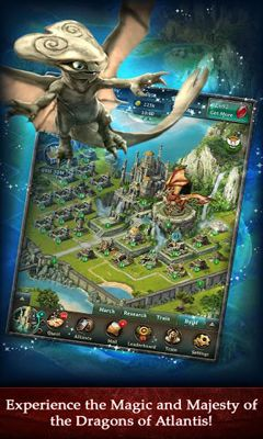 Screenshots von Dragons of Atlantis für Android-Tablet, Smartphone.