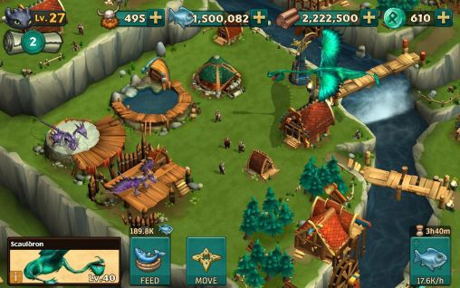 Dragons: Rise of Berk screenshot 1