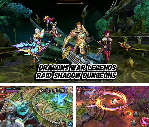 Dragons war legends: Raid shadow dungeons