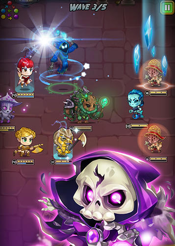 Screenshots von Dragon's watch RPG für Android-Tablet, Smartphone.