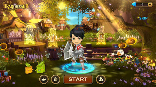 Screenshots do Dragonsaga - Perigoso para tablet e celular Android.