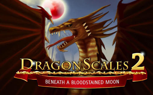 Dragonscales 2: Beneath a bloodstained Moon обложка