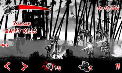 Screenshots of the Draw Slasher for Android tablet, phone.