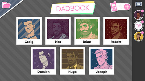 Dream daddy screenshot 1