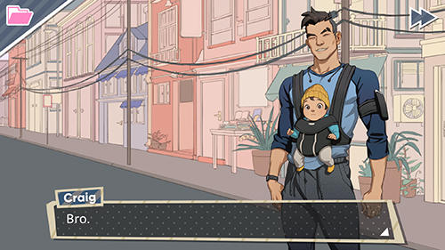 Dream daddy screenshot 2