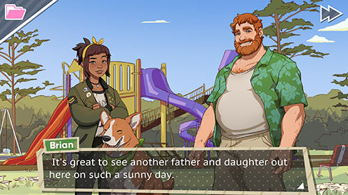 Screenshots von Dream daddy für Android-Tablet, Smartphone.