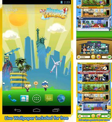 In addition to the game Nosferatu for Android phones and tablets, you can also download Dream Heights for free.