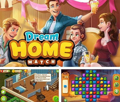 In addition to the game Dream home match for Android, you can download other free Android games for GOCLEVER Quantum 700M.