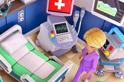 Screenshots von Dream hospital: Health care manager simulator für Android-Tablet, Smartphone.