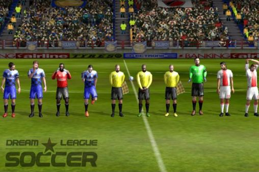 Гра Dream league: Soccer на Android - повна версія.