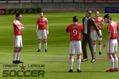 Геймплей Dream league: Soccer для Android телефону.