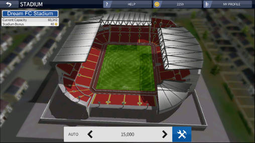 Screenshots von Dream league: Soccer 2016 für Android-Tablet, Smartphone.
