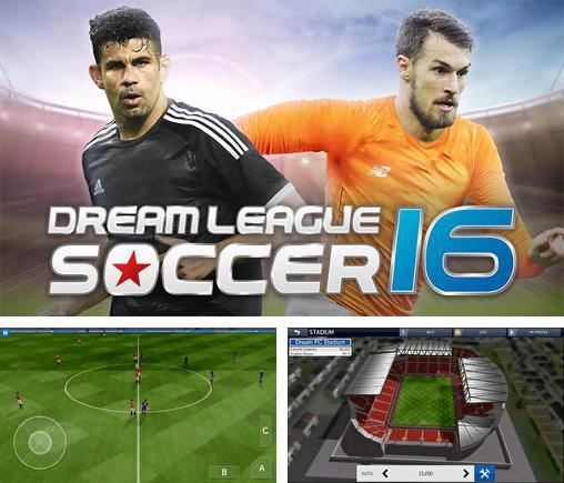 In addition to the game Wall defense: Zombie mutants for Android phones and tablets, you can also download Dream league: Soccer 2016 for free.
