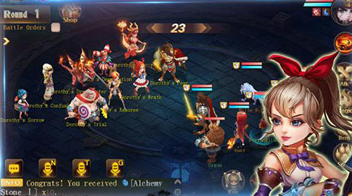 Screenshots von Dreamcraft: Legends clash für Android-Tablet, Smartphone.