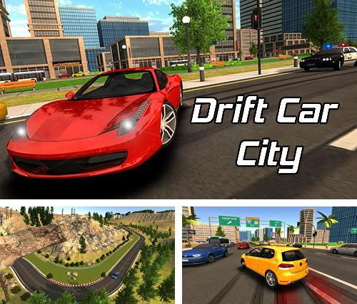 Drift car city simulator
