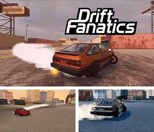 Drift fanatics: Sports car drifting race