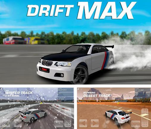 In addition to the game Drift Mania Championship for Android phones and tablets, you can also download Drift max for free.