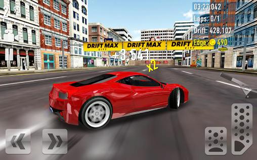Screenshots von Drift max: City für Android-Tablet, Smartphone.