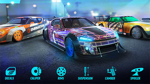 Écrans de Drift max world: Drift racing game pour tablette et téléphone Android.
