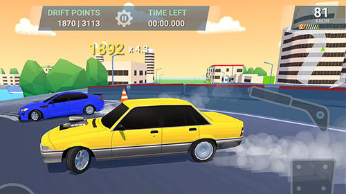Screenshots do Drift Straya online - Perigoso para tablet e celular Android.
