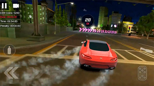 Screenshots of the Drift street 2018 for Android tablet, phone.