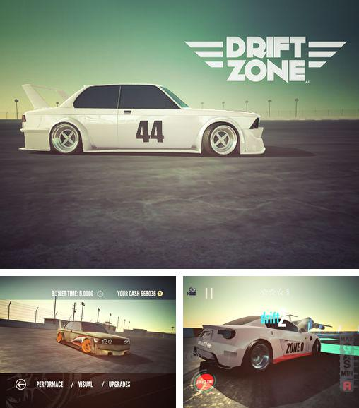 In addition to the game Drift Mania Championship for Android phones and tablets, you can also download Drift zone for free.
