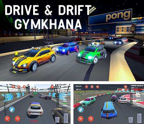 Drive and drift: Gymkhana car racing simulator game