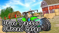 Drive tractor offroad cargo: Farming games APK