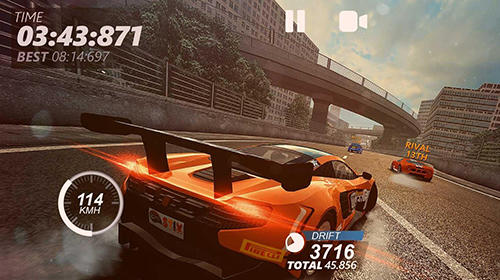 Screenshots von Drivenline: Rally, asphalt and off-road racing für Android-Tablet, Smartphone.