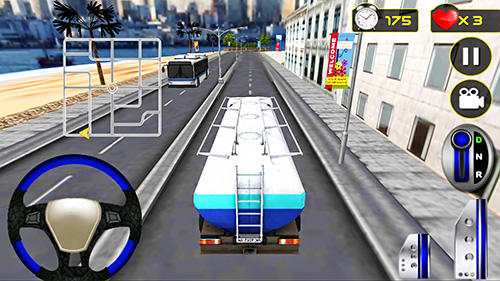 Jogue Driving simulator: Truck driver para Android. Jogo Driving simulator: Truck driver para download gratuito.