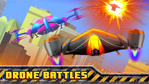 Drone battles poster