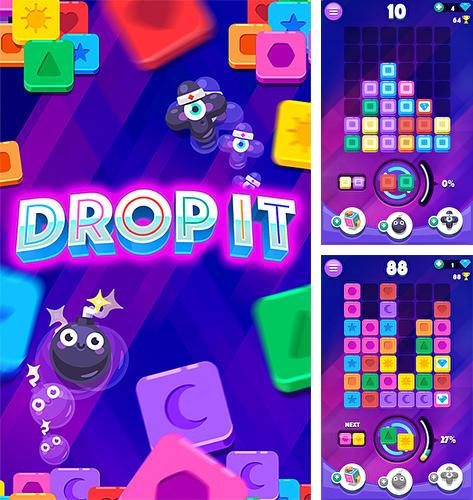 Drop it! Crazy color puzzle