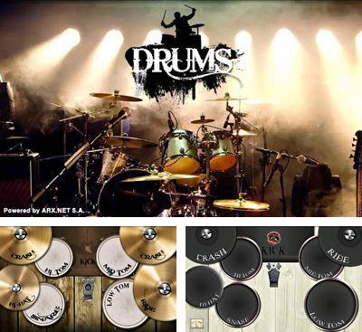 In addition to the game Guitar: Solo for Android phones and tablets, you can also download Drums HD for free.