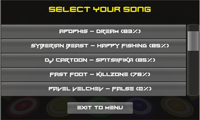 Dubstep Hero screenshot 1