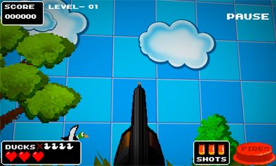 Kostenloses Android-Game Retro Entenjagd. Vollversion der Android-apk-App Hirschjäger: Die Duck Retro Hunt PRO für Tablets und Telefone.