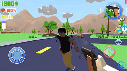 Dude theft auto: Open world sandbox simulator screenshot 1