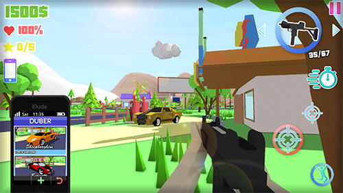 Dude theft auto: Open world sandbox simulator screenshot 3