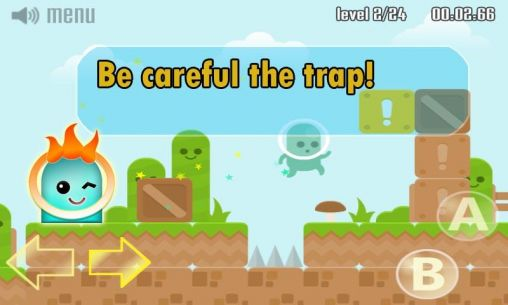 Screenshots of the Dumb ways to escape for Android tablet, phone.