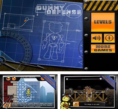 In addition to the game Bridge Architect for Android phones and tablets, you can also download Dummy Defense for free.