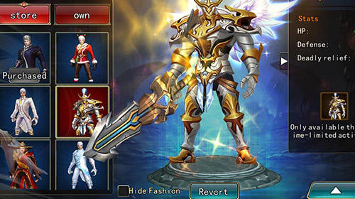 Download Dungeon blade Android free game.