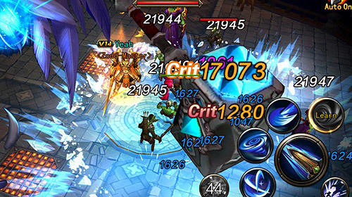 Screenshots of the Dungeon blade for Android tablet, phone.