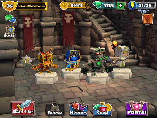 Скачать взлом Dungeon Keeper много денег и читы